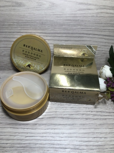 Qalma Gold Collagen eye patch
